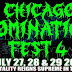 'CHICAGO DOMINATION FEST 4 - 27th-30th July 2017', First Flyer Revealed