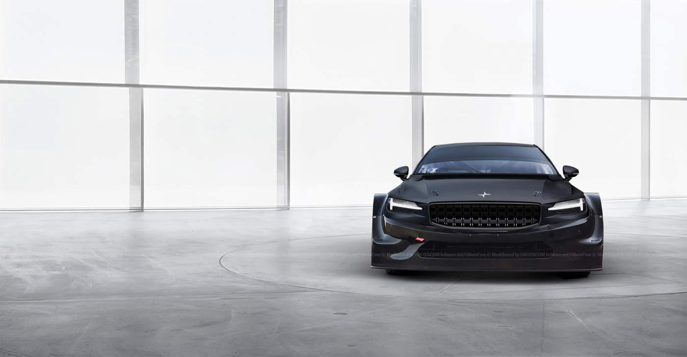 White Audi Car Wallpaper Polestar 1 Looks Wicked As A Race Car Carscoops