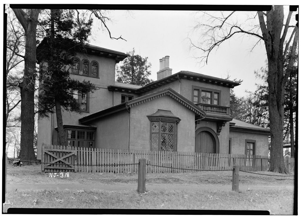 The picturesque style italianate architecture the first for The bishop house