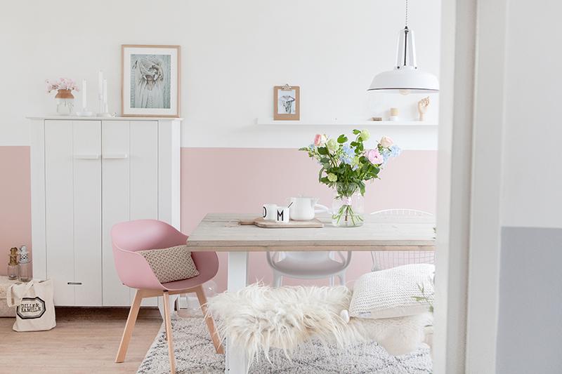 Atelier rue verte le blog pays bas un int rieur rose for Douceur interieur