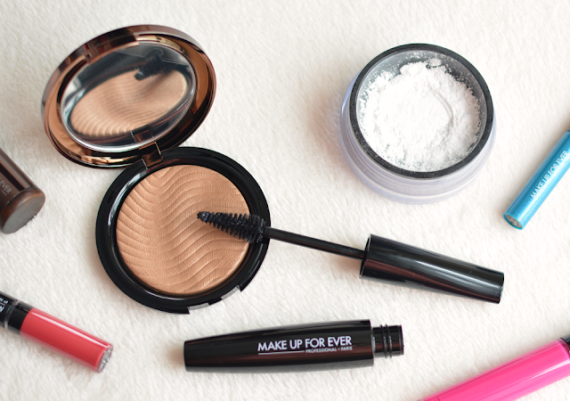 Make up for ever, HD powder, Pro bronze fusion, Smokey extravagant mascara, Review, Beauty, Debenhams