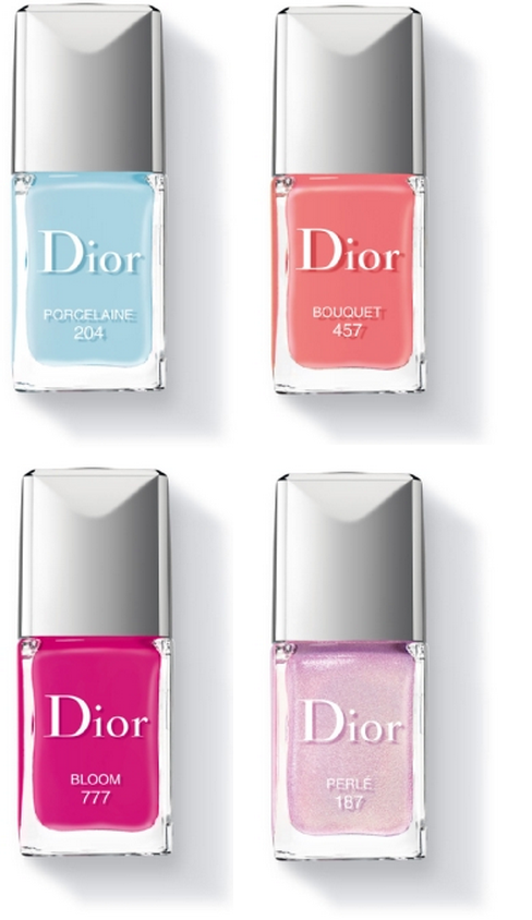 Dior Trianon Collection Spring 2014 nail polish colors