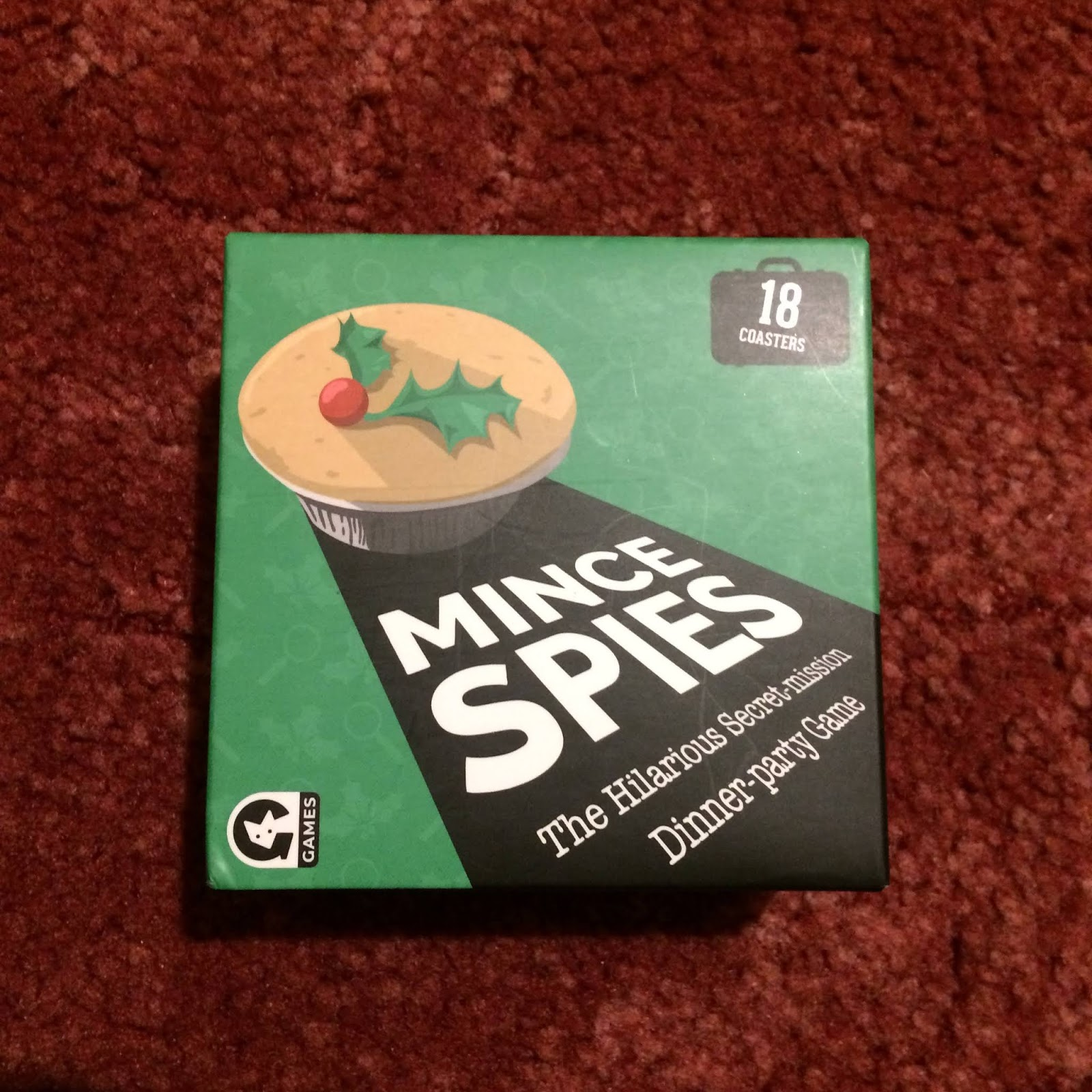 Mince Spies - The hilarious secret mission dinner-party game