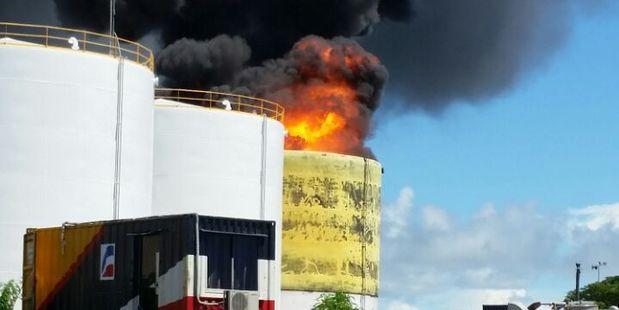 One dead after fuel tank fire in Apia, Samoa