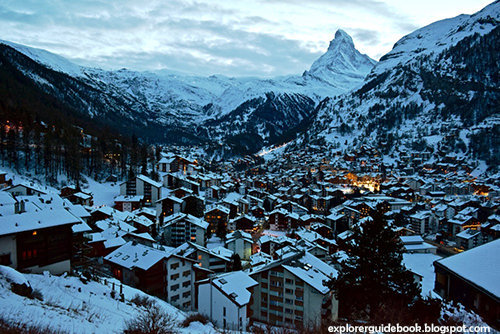tempat wisata ski terkenal di swiss zermatt