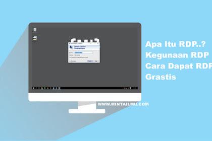 Pengertian RDP Dan Cara Menggunakan RDP (Remote Desktop Protocol)