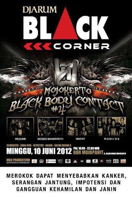 GAMBAR Events Mojokerto Black Body Contact 4