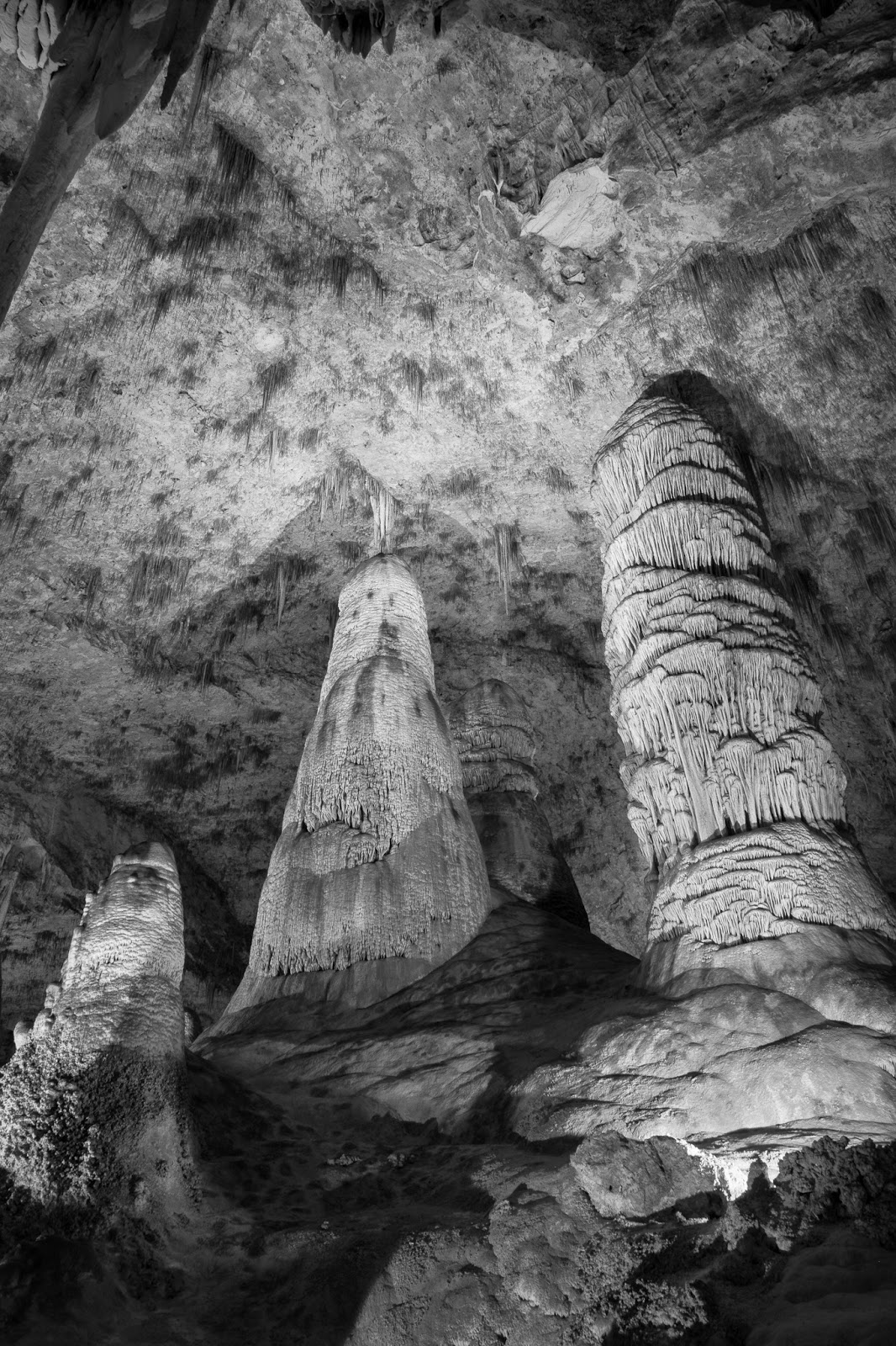 Carlsbad Caverns, The Hall of Giants
