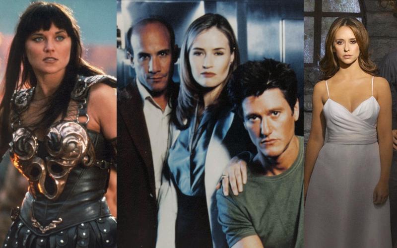Séries TV & Nostalgie • Xena la Guerrière, Invisible Man et Ghost Whisperer.