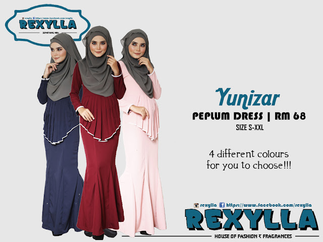 rexylla, peplum dress, pearl dress, yunizar collection