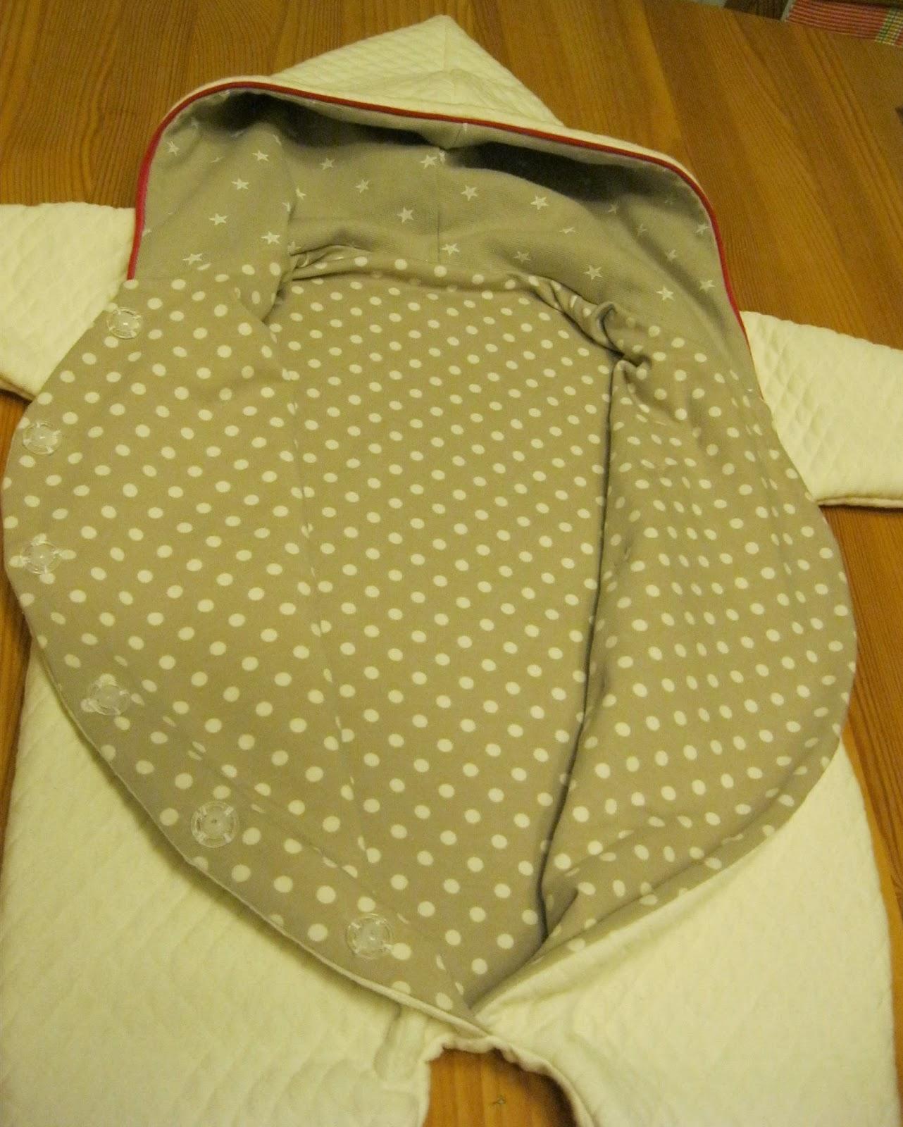 Wellness an der Nähmaschine: Babyoverall 10550 von Minikrea