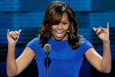 michelle obama speech donald trump