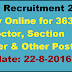PPSC Recruitment 2016 – Apply Online for 363 Inspector, Section Officer & Other Posts