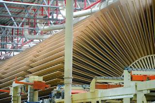 Производство древесных плит с пониженным содержанием формальдегидов в «Алабуге»