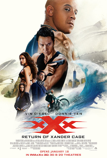 xXx Return of Xander Cage Movie Poster 2