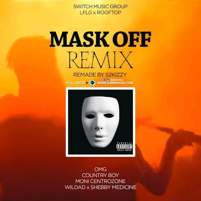 OMG,COUNTRY BOY,WILDAD,MONI & MEDICINE - Mask OFF Remix
