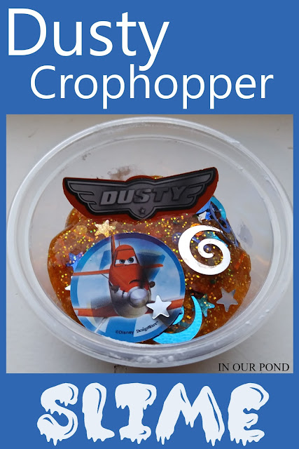 Disney-Inspired Dusty Crophopper Slime from In Our Pond