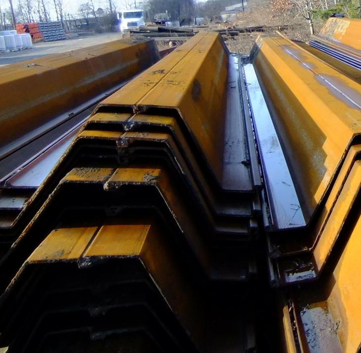 FS Supply Co: V Good Used AZ26 Sheet Pile