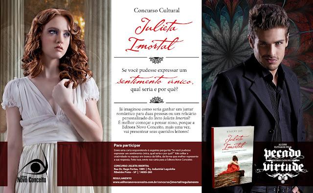 News: Concurso Cultural do livro Julieta Imortal 17
