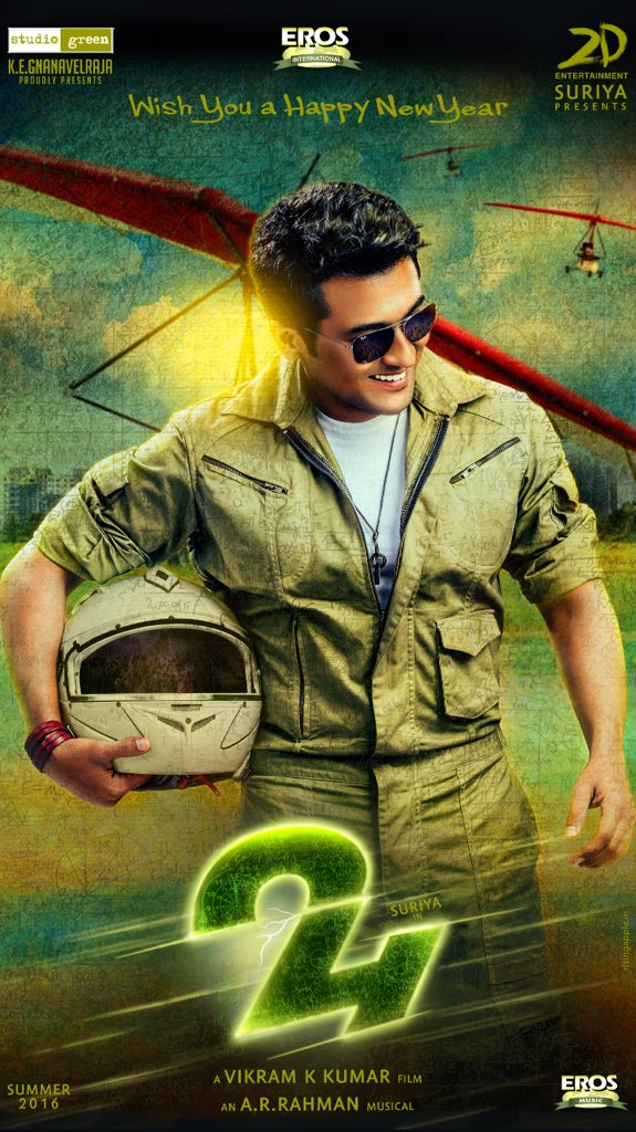 Suriya's 24 Tamil Movie Latest Posters