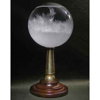 Picture of a storm glass. Pretty, aren't they?
