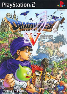 Dragon Quest V: Hand of the Heavenly Bride cover 2