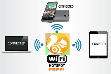 How to create a WiFi hotspot in a web browser UC Browser