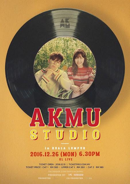 [Akdong Musician - AKMU STUDIO IN KUALA LUMPUR] 26 Dec 2016 @ KL Live