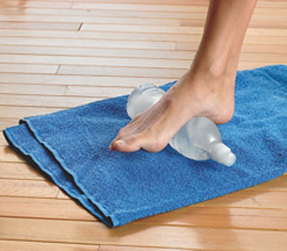foot roller to treat plantar fasciitis