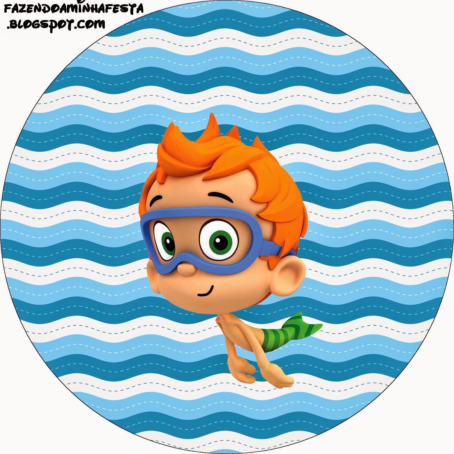 It's just an image of Persnickety Free Bubble Guppies Printables