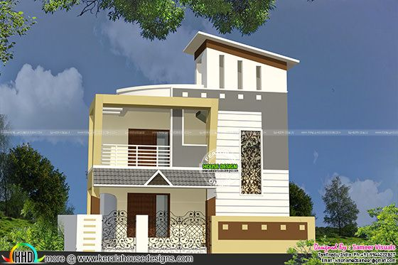 Double floor small home