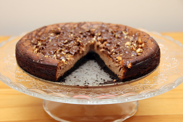 Reese Peanut Butter and Chocolate Cheesecake