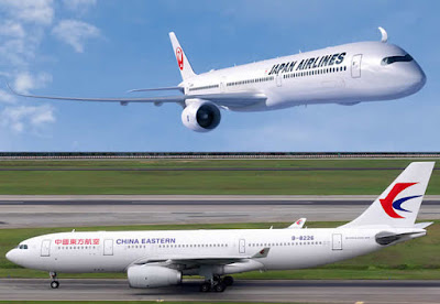 JAL e China Eastern Airlines
