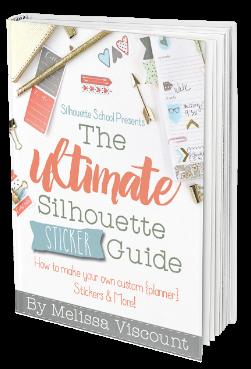 Silhouette CAMEO Silhouette Sticker Book tutorials