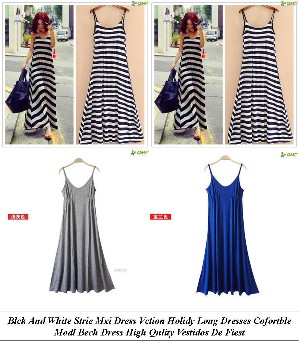 Quinceanera Dresses - Summer Maxi Dresses On Sale - Denim Dress - Cheap Trendy Clothes