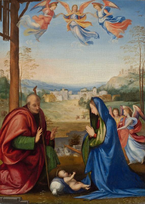 Fra Bartolommeo - The Nativity (c.1504)