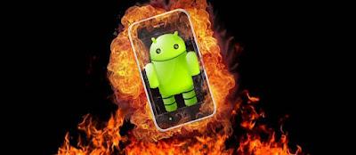 Penyebab Dan Cara Mengatasinya Ponsel Batrei Android Cepat Panas