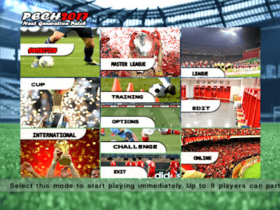 PES 6 PECH Next-Generation Patch 2016/2017 [ English Version ]