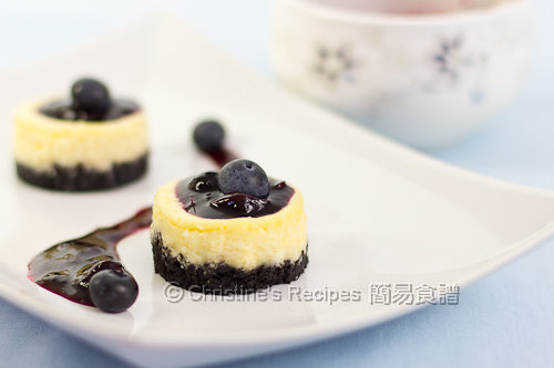 迷你藍莓芝士蛋糕 Mini Blueberry Cheesecakes02