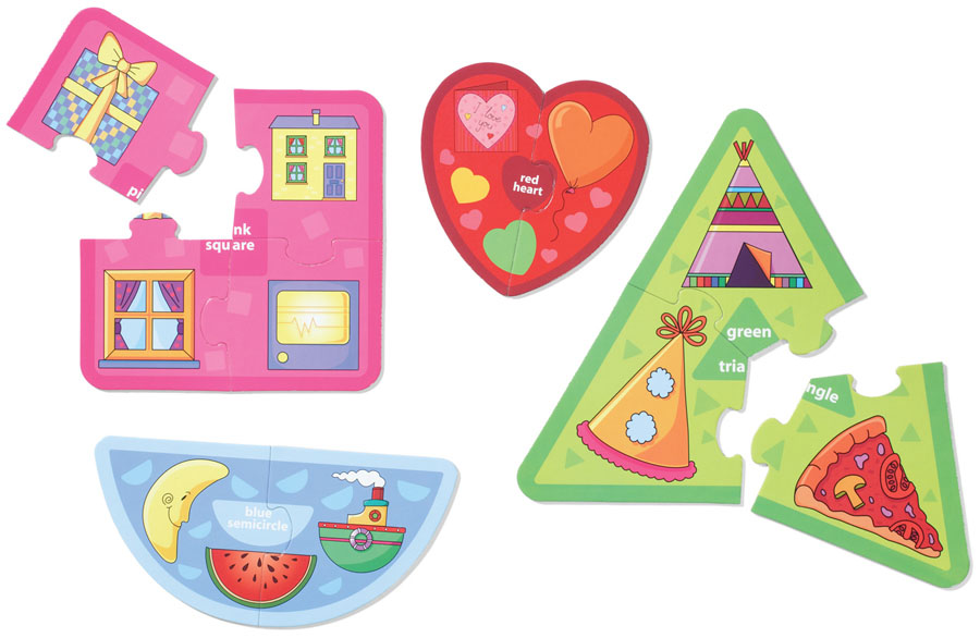 Funfunbaby: Colors And Shapes Puzzles