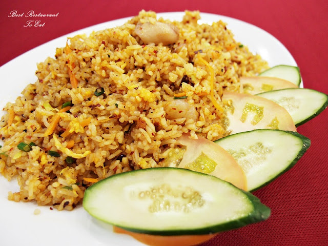 Ibrahims Fatty Crab Restoran Ampang Jaya Scallop Sauce Fried Rice