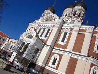 Aleksander Nevski cathedral in Tallinn
