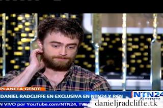 Daniel Radcliffe on Planeta Gente