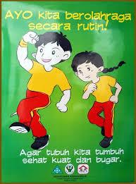 Poster Pola Hidup Sehat