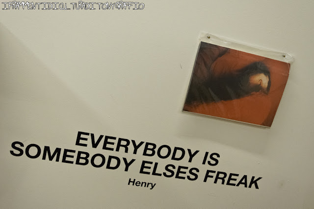everybody is somebody elses freak