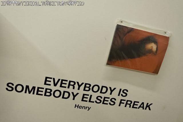 everybody is somebody elses freak