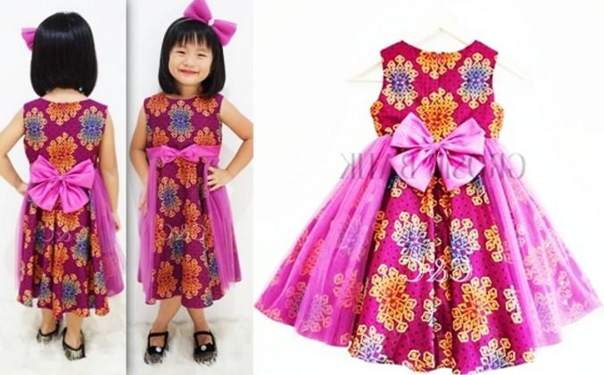 Model Batik Terbaru Anak Perempuan Model Batik 2019