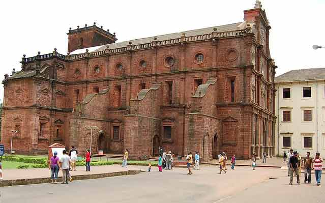 Basilica of Bom Jesus Goa in india