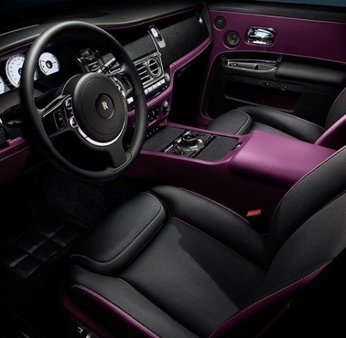 Interior Mobil Rolls Royche