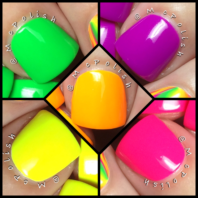Lavish Polish - Summer Collection - McPolish